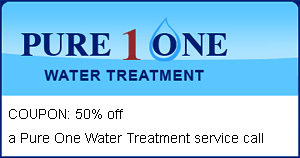 Pure One Water Treatment Coupon