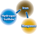 Hydrogen Sulfied, Iron, and Manganese